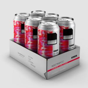 Canettes Command, pack de 6–Lacets à la fraise