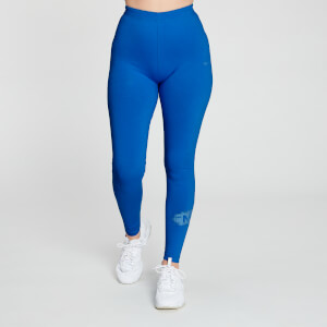 Chalk Graphic 基礎純棉系列 女士緊身褲 - 深藍