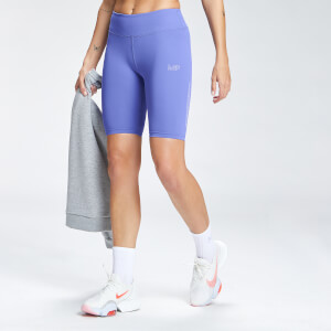 MP Women's Repeat Mark Graphic Training Cycling Shorts - Bluebell