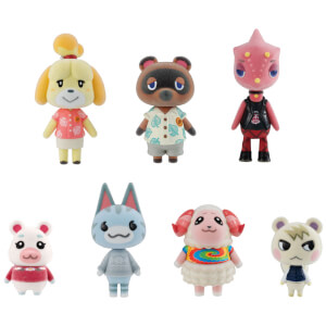 Nintendo Animal Crossing Figures Gift Set - 7 Pieces