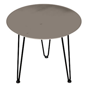 Decorsome Natural Look Wooden Side Table