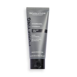 Revolution Skincare Pore Cleansing Charcoal Peel Off Mask 100ml