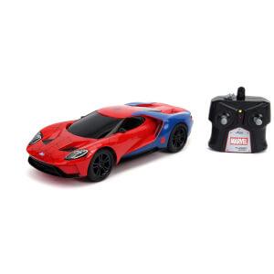 Jada Toys Marvel RC Spider-Man 2017 Ford GT 1:16