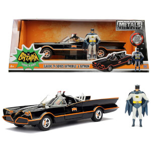 Jada Toys Batman 1966 Classic Batmobile 1:24