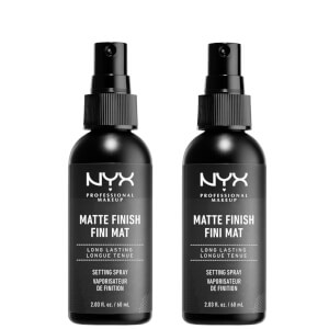 NYX Professional Makeup Setting Spray Duo - Matte