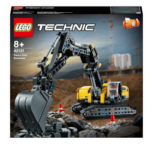 LEGO Technic: Heavy-Duty Excavator 2 in 1 Building Set (42121)