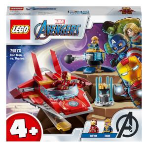 LEGO Marvel Avengers Iron Man vs. Thanos Toddler Toy (76170)