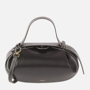 Yuzefi Women's Loaf Leather Bag - Black