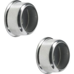 Invisifix Sockets - Chrome Plated - 25mm
