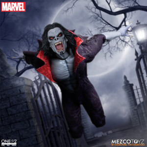 Mezco One:12 Collective Marvel Comics Morbius the Living Vampire Figure
