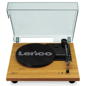 Lenco LS-10 WD Turntable with Built-in Speakers - Wood from I Want One Of Those