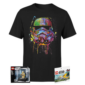 T-Shirt Unisexe Star Wars & 2 Mini Figurines Star Wars LEGO