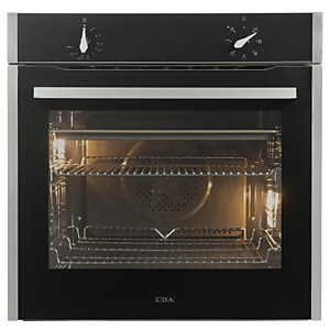CDA SL100SS Built-in Single Electric Oven - 7 Function - Stainless Steel