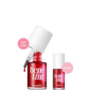 benefit Born 2 Benetint Rose Tinted Lip and Cheek Duo (Worth £35.70)