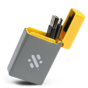 Flip - Retractable 3-in-1 Charge Cable - Yellow from I Want One Of Those