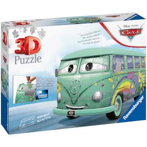 Disney Pixar Cars Filmore - VW Camper Van 3D Jigsaw Puzzle (162 Pieces)