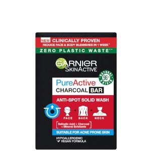 Garnier SkinActive Pure Active Charcoal Bar 100g