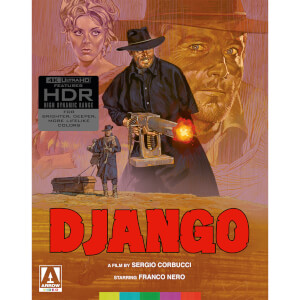 Django - 4K Ultra HD (Includes Texas Adios Blu-ray)