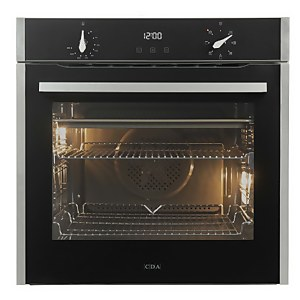 CDA SL200SS Built-in Single Electric Oven - 7 Function - Stainless Steel