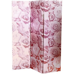 Arthouse Romance Blush Room Divider