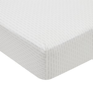 Silva Fitted Sheet King Size Cloud Grey