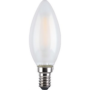 TCP Lightbulbs Filament Candle 60W SES Daylight