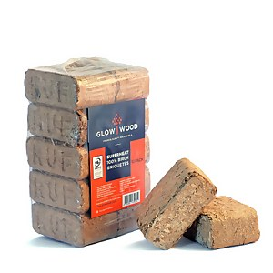 Glowwood RUF Heat Logs Fuel (10 Pack)