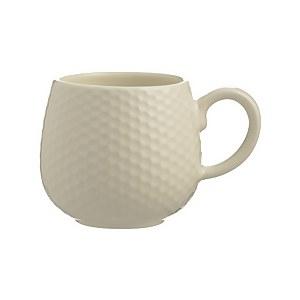 Mason Cash Embossed Honeycomb Cream Mug