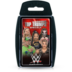 WWE Top Trumps Specials Card Game