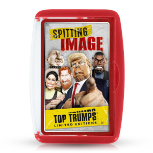 Spitting Image Top Trumps Limited Editions Card Game