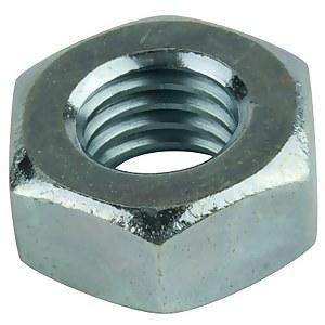 Pinnacle Hex Nuts M10 Zinc Plated - 10 Pack