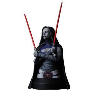 Gentle Giant Star Wars The Clone Wars Asajj Ventress 1/6 Scale Bust
