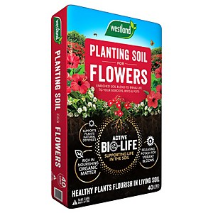 Bio Life Planting Soil For Flowers 40l