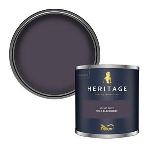 Dulux Heritage Colour Tester - Wild Blackberry - 125ml