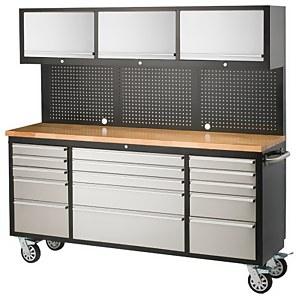 Ultimate Storage 72in Garage Workstation Tool Trolley