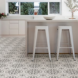 FloorPops Peel and Stick Floor Tiles - Remy
