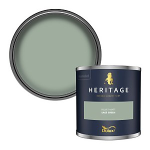 Dulux Heritage Colour Tester - Sage Green - 125ml