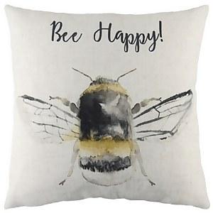 Bee Happy Cushion - 43x43cm