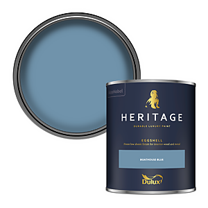 Dulux Heritage Eggshell Paint - Boathouse Blue - 750ml