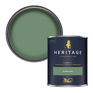 Dulux Heritage Eggshell Paint - DH Grass Green - 750ml