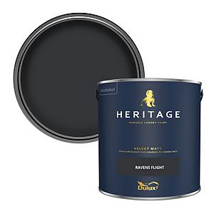 Dulux Heritage Matt Emulsion Paint - Ravens Flight - 2.5L