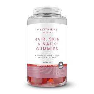 Vegan Hair, Skin & Nails Gummies