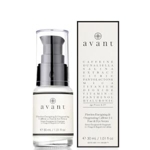 Avant Skincare Flawless Energising and Oxygenating Caffeine 2-1 Face and Eye Serum 30ml