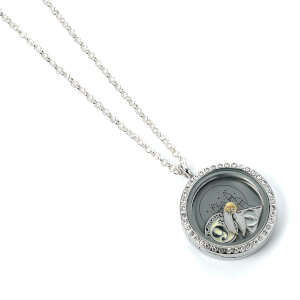 Harry Potter Floating Charm Locket Necklace from I Want One Of Those