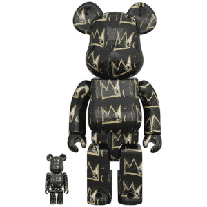 Medicom Jean-Michel Basquiat 8 100% X 400% Be@rbrick 2-pack