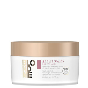 Schwarzkopf Blondme Light Mask - All 200ml