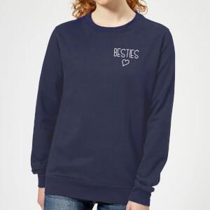 Besties Women's Sweatshirt - Navy