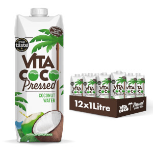 Pressed Coconut Water, 1 Litre (12 Units)