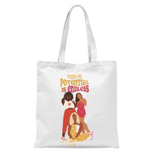 Your Potential Is Endless Tote Bag - White