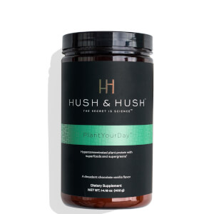 Hush & Hush Plant Your Day Energy Supplement 14.18 oz
